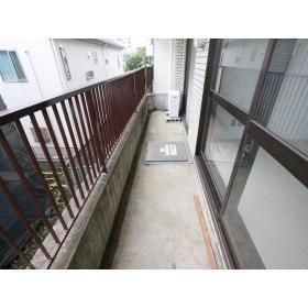 リバーサイド桜ヶ丘 202号室のバルコニー