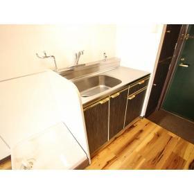 パールハイツ 408号室のキッチン