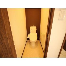 パールハイツ 408号室のトイレ