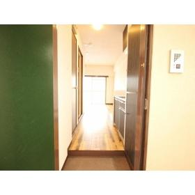 パールハイツ 408号室の玄関