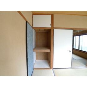 柳コーポ 103号室の収納