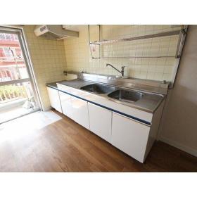 フジビューマンションⅡ 104号室のキッチン