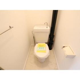 フジビューマンションⅡ 104号室のトイレ