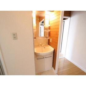 フジビューマンションⅡ 104号室の洗面所