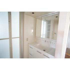 南林間ハイライズ 701号室の洗面所
