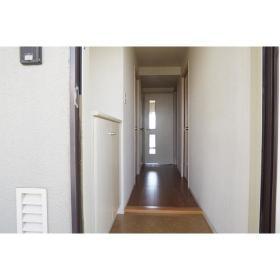 南林間ハイライズ 701号室の玄関