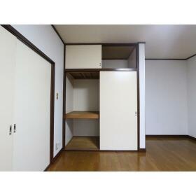 ハイツ多慶 203号室のバルコニー