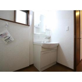 柳橋2丁目ハウスの洗面所