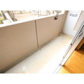 サンケイハイツ柳橋 203号室のバルコニー