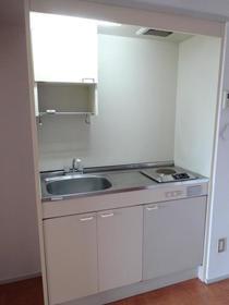 フランバン壱参 301号室のキッチン