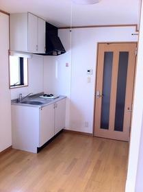 湘南マンション 2-D号室のキッチン