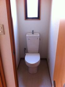 湘南マンション 2-D号室のトイレ