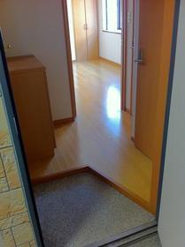 湘南マンション 2-D号室の玄関