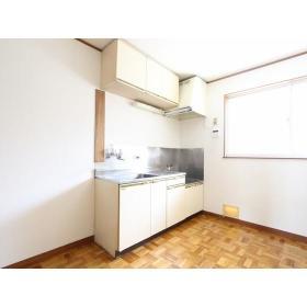 第2ビラヒロセ 101号室のキッチン