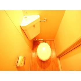上野ハイツ2F 206号室のトイレ