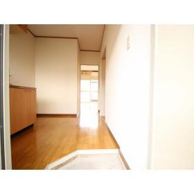 上野ハイツ2F 206号室の玄関