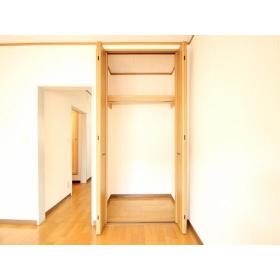 上野ハイツ2F 206号室の収納