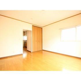 上野ハイツ2F 206号室のバルコニー