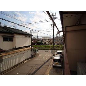 上野ハイツ2F 206号室の眺望
