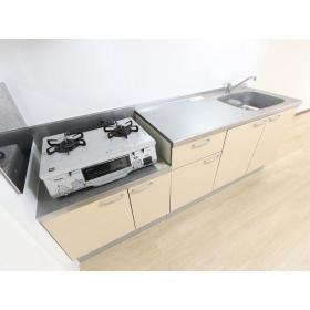 リバーサイド桜ヶ丘 104号室のキッチン