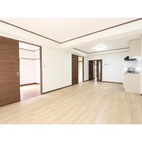 リバーサイド桜ヶ丘 104号室のリビング
