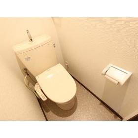 リバーサイド桜ヶ丘 104号室のトイレ