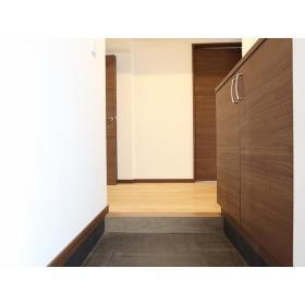 リバーサイド桜ヶ丘 104号室の玄関