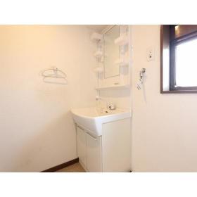 リバーサイド桜ヶ丘 104号室の洗面所