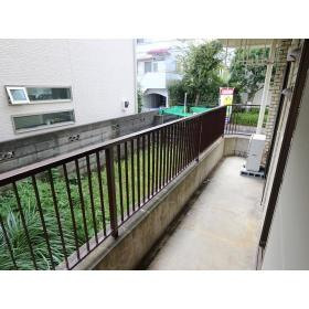 リバーサイド桜ヶ丘 104号室のバルコニー