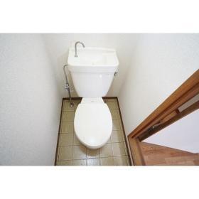 Kハウス 201号室のトイレ