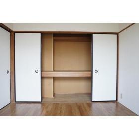 Kハウス 201号室の収納
