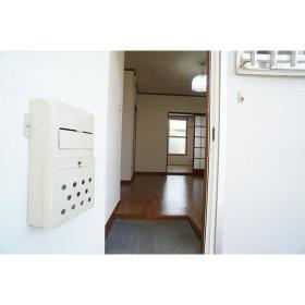 Kハウス 201号室の玄関