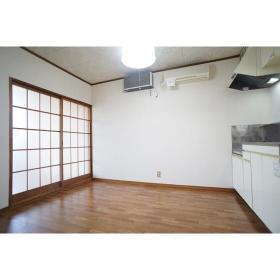 Kハウス 201号室のキッチン