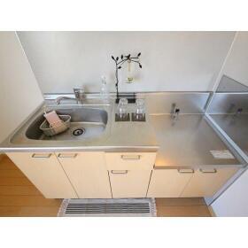 ハイラーク桜ヶ丘Ⅷ 202号室のキッチン