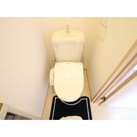 ハイラーク桜ヶ丘Ⅷ 202号室のトイレ