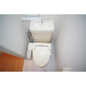 レジデンテ プリマベーラ 102号室のトイレ