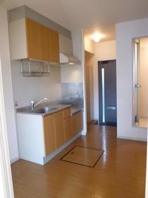 ジュネスヒロ3 102号室のキッチン