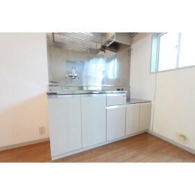 コーポサンクレール 101号室のキッチン