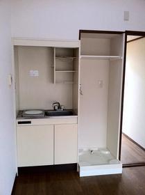 開成ハイツ 103号室のキッチン