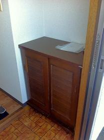 ハイデンスモリヤ 202号室の収納
