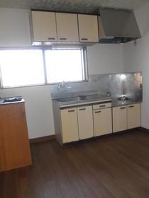 第二メゾンミドリ 103号室のキッチン