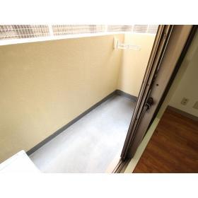 ホーユウコンフォルト大和中央 108号室のバルコニー