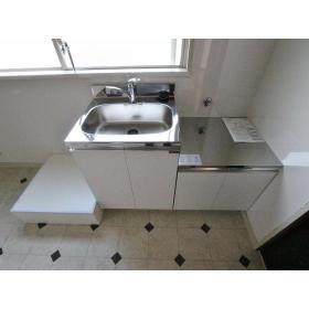 第二小島ビル 303号室のキッチン