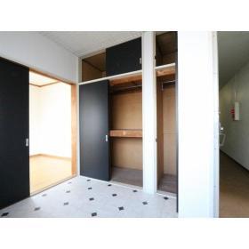 第二小島ビル 303号室の収納