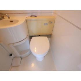 第二小島ビル 303号室のトイレ