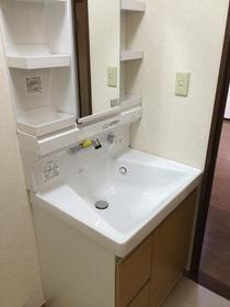アリエス町田 202号室の洗面所