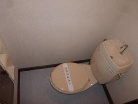ボヌール深見A 105号室のトイレ