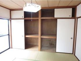 コスモハイツ桜ヶ丘 201 201号室の収納