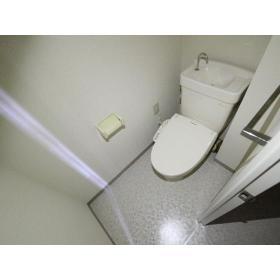 サンハイム桜ヶ丘 103号室のトイレ