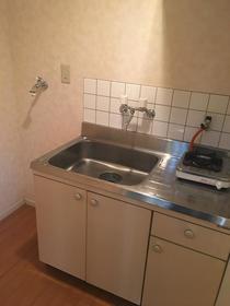ジュピター1 103号室のキッチン
